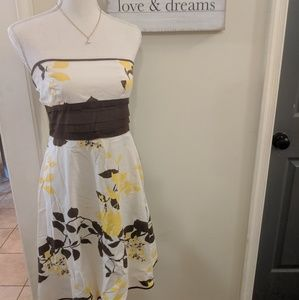 Speechless strapless summer dress sz small